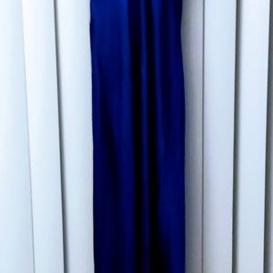 Stunning Cache Gown in Royal Blue, EUC